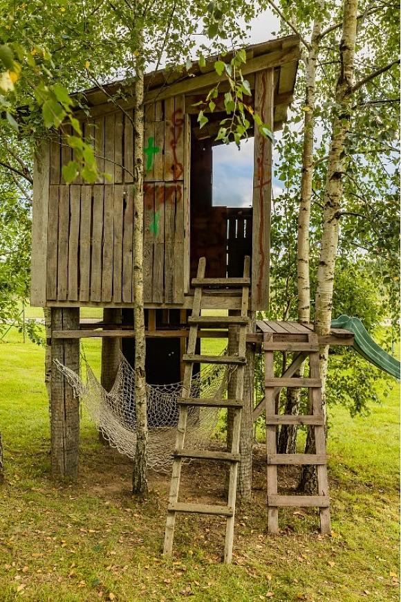 Namiņš kokā: PIRMS pārvērtībām