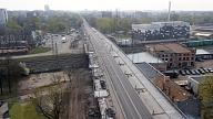 BVKB atļāvis pilnā apjomā atsākt būvdarbus uz Augusta Deglava tilta
