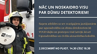 VUGD 2. decembrī visā Latvijā organizē konsultāciju dienu par dūmu detektoriem