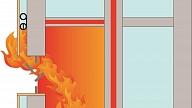 Kā aizsargāt māju vai daudzdzīvokļu namu no nevēlamu uguns liesmu un dzirksteļu iekļūšanas bēniņos vai zem ventilējamās fasādes?