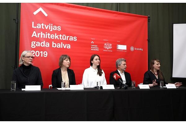 """Ar """"Latvijas Arhitektūras gada balvas 2019"""" nominantu darbu izstādi atklās Arhitektūras nedēļas pasākumus"""