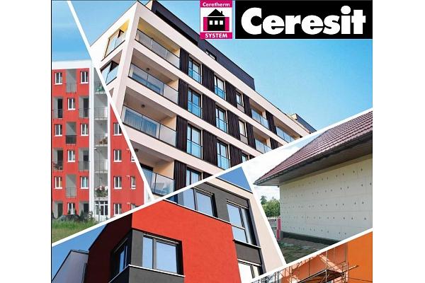 Kvalitatīva fasāžu apdares un siltināšanas sistēma ar CERESIT