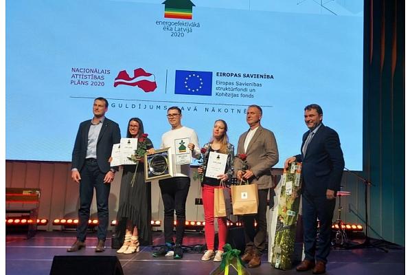 """Godināti konkursa """"Energoefektīvākā ēka Latvijā 2020"""" laureāti (FOTO)"""