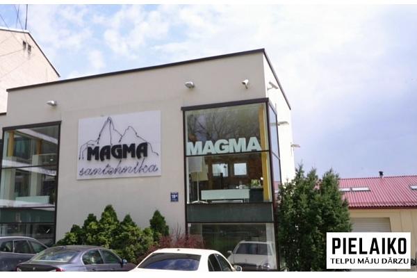 """SIA """"Magma"""" santehnikas ražošana un tirdzniecība:Pielaiko Telpu Māju Dārzu"""