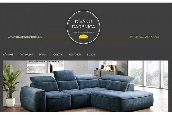 Mūsdienīgi dīvāni mājoklim