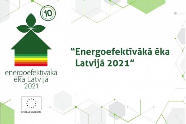 """Noslēdzies konkurss """"Energoefektīvākā ēka Latvijā 2021"""" (FOTO)"""