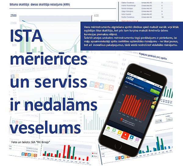 """""""ISTA"""" mērierīces un serviss ir nedalāms veselums"""