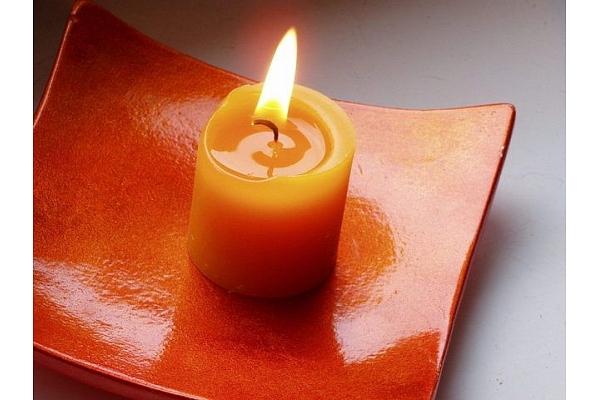 Sveču dienā - sveces