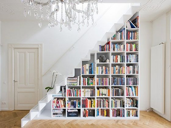 Kā lietderīgi izmantot nišu zem kāpnēm