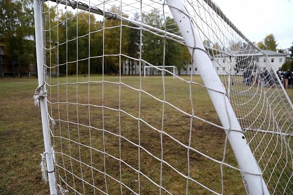 Ventspilī atklās par 260 000 eiro renovēto futbola laukumu
