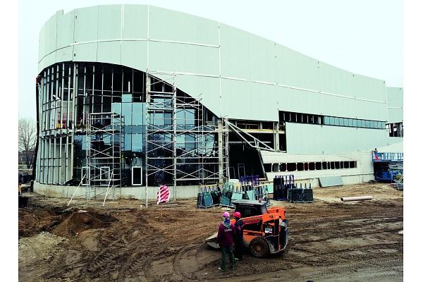 Multifunkcionālā sporta halle Daugavpilī