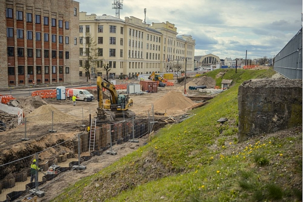 Noslēdzies Rail Baltica Rīgas Centrālā mezgla būvniecības pirmais pusgads