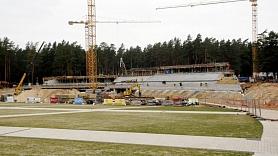 Būvniecības produkcijas apmēri pirmajā ceturksnī Latvijā pieauga par 7,4%
