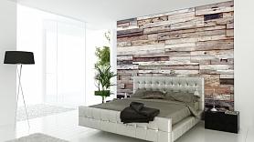Kā izveidot akcentējošo sienu no koka?