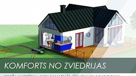 """NIBE siltumsūkņi – efektīva, ekoloģiska un """"gudra"""" apkure tavam mājoklim"""
