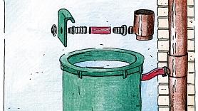 Praktiskie Padomi: Lietus ūdens uzkrāšanas sistēma–kā to uzmeistarot paša rokām?
