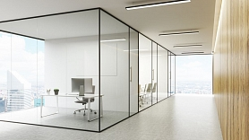 Stikla konstrukcijas interjerā: Priekšrocības un uzstādīšanas nianses