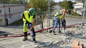 Ventspilī par 6 miljoniem eiro pārbūvē Robežu un Mazo Kurzemes ielu