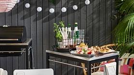 4 idejas, kā iekārtot nelielu vasarnīcas terasi