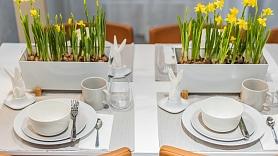 4 vienkāršas idejas, kā glīti uzklāt Lieldienu galdu