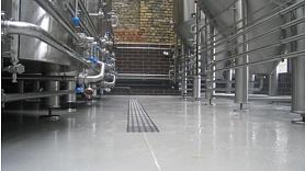 Industriālās grīdas ražošanas telpām