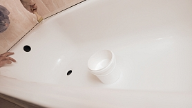 Kā atjaunot vannas emalju?
