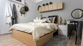 Kā atsvaidzināt guļamistabas interjeru,lieki netērējoties? Iesaka dizainere