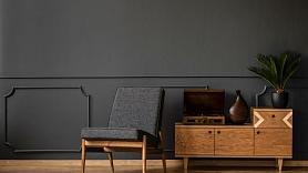 Kā izmantot melno krāsu, lai paspilgtinātu interjeru? Iesaka dizainere