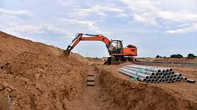Paplašinās ūdensapgādes un kanalizācijas tīklus Ziepniekkalnā, Teikā un Imantā