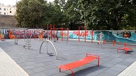 Šogad Bolderājā plānots pabeigt sporta un atpūtas laukuma būvdarbus
