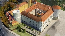 VNĪ: Rīgas pils kastelas daļas pārbūves gaitā atrasta ap 600 gadu sena krāsns