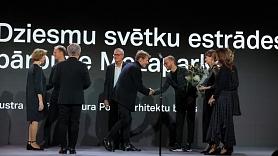 """Pasniegts augstākais apbalvojums nozarē  """"Latvijas Arhitektūras Lielā gada balva 2021"""" (FOTO)"""