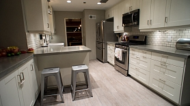Kā izvēlēties grīdas segumu virtuvei?