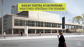 VNĪ: Zināms uzņēmums, kas veiks Dailes teātra skvēra labiekārtošanas darbus