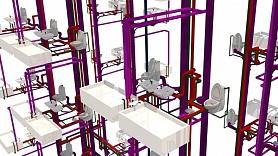 Ātrāka un ērtāka inženiersistēmu projektēšana 3D vidē