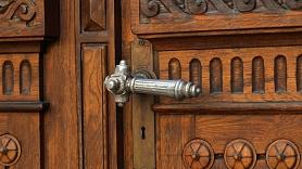 Droši aizslēgtas durvis