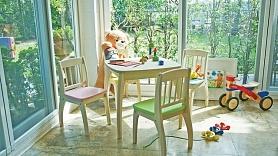Idejas bērnistabas iekārtojumam