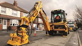 Piedāvā efektīvu risinājumu ceļu remontdarbiem