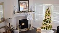 4 padomi, kā radīt svētku atmosfēru mājoklī skandināvu stilā