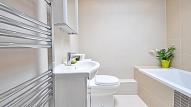 Apvienota vannas istaba un tualete: priekšrocības un trūkumi