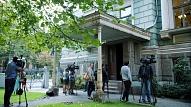Atklās Kultūras ministrijas ēkas atjaunoto fasādi