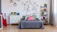 Ģeometrija interjerā: 6 veidi, kā īstenot oriģinālo dizaina risinājumu savā mājoklī