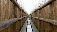 Grobiņā pabeigta Ālandes upes atpūtas kompleksa būvniecība