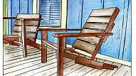 Izgatavo pats! Dārza krēsls no paletēm