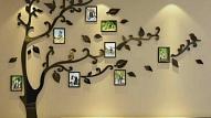 Kā gaumīgi izkārtot fotogrāfijas pie sienas?