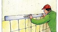 Kā pareizi ieklāt sienas flīzes?