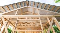 Koka karkasa mājas: Priekšrocības un trūkumi