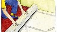 Mīkstā grīdas seguma ieklāšanas principi