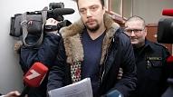 """Rokrakstu eksperts no Lietuvas atzinis, ka sagruvušās """"Maxima"""" būvinženiera Sergeta paraksts uz kopņu rasējumiem nav viņa"""