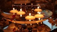Svētku noskaņai mājoklī: Kā izgatavot peldošo sveci?